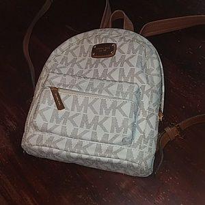 Michael Kors monogram backpack